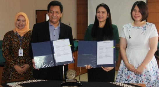FEB Signing MoA with Asia University Taiwan